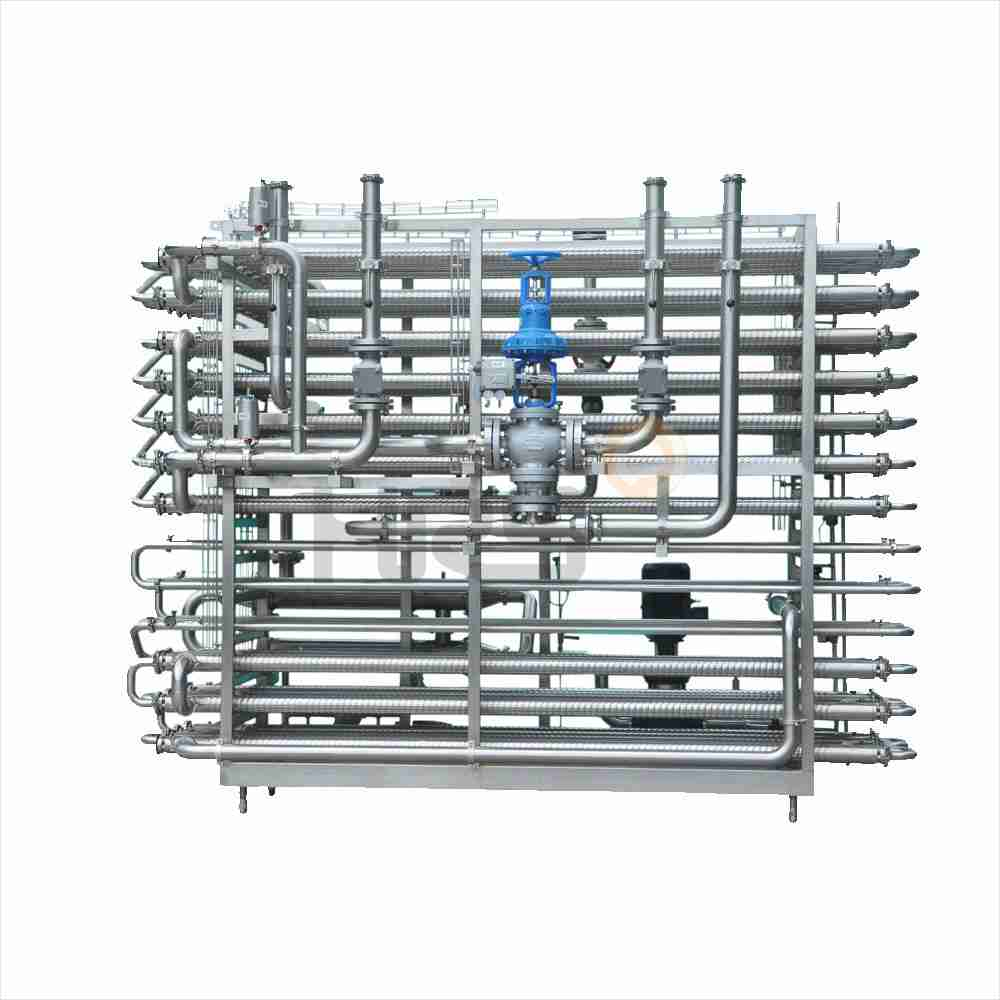 preheater and pasteurizer